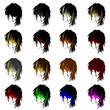 Medium Hair Layers Icon 1 Collection