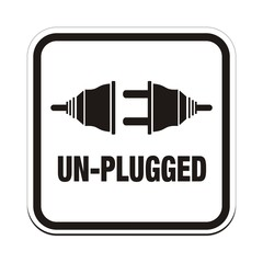 un plugged signs