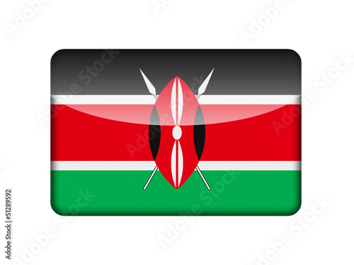 The Kenyan flag