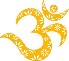 OM Mantra Symbol, Muster, Aum, Buddhismus