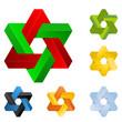 3d symbole set