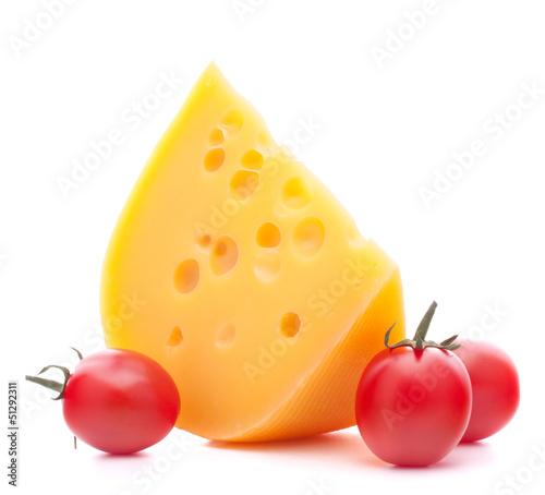 Cheese and cherry tomato