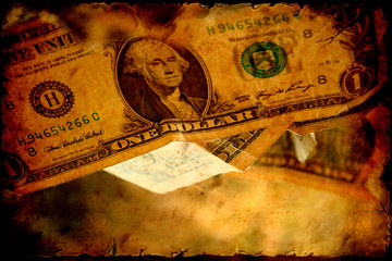 Retroplakat - Dollars V