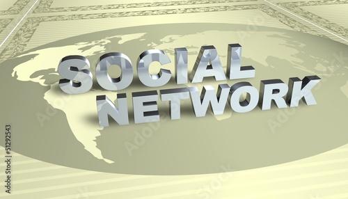 3D Grafik - Social Network