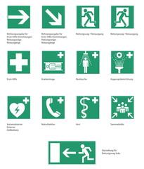 Rettungszeichen