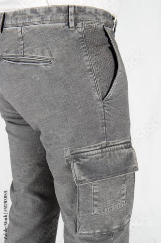 Poster pantaloni grigi