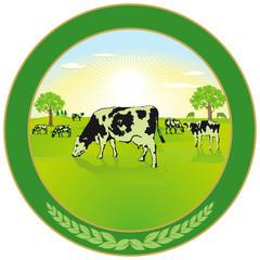 Milchwirtschaft Label