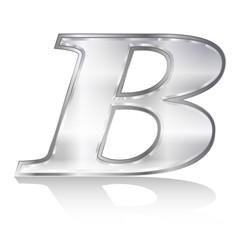 B  エンブレム アルファベット