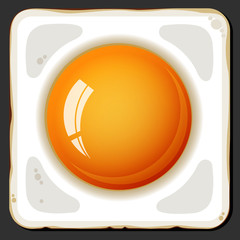 Fried eggs icon