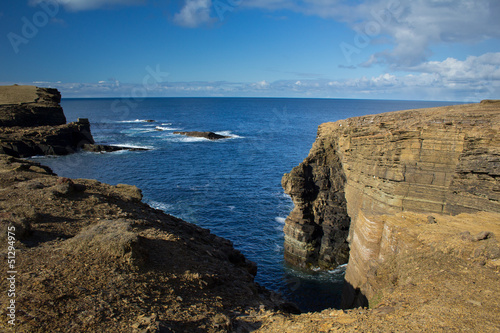 Rugged Orkney coastline