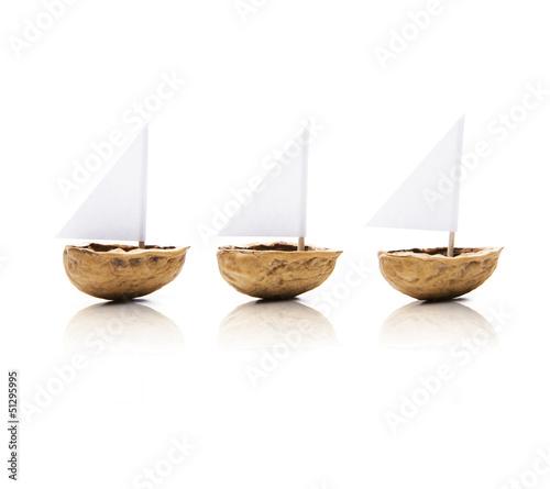 Nußschiffchen