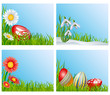 Easter corner decoration set