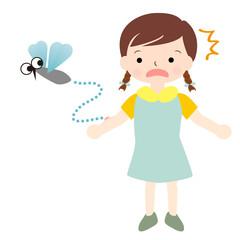 女の子 夏 蚊 虫さされ