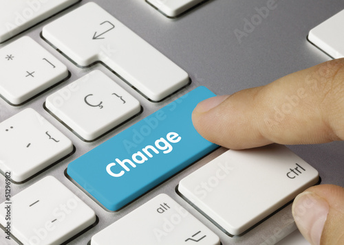 Change keyboard key finger
