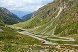 Switzerland - road to Umbrail Pass