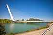 Alamillo bridge in Seville. Spain.