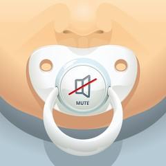 Baby mute