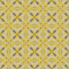 abstract seamless pattern tile design