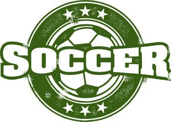 Soccer Sport Stamp