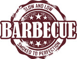 BBQ Barbecue Stamp Seal