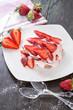 leichte Tiramisu mit Erdbeeren