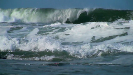 Ocean slow motion