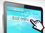 tablette tactile rechercher : book online