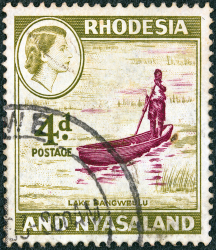 Lake Bangweulu (Rhodesia and Nyasaland 1959)