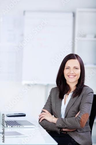 geschäftsfrau im büro