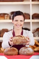 brote in der bäckerei