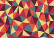 Retro Triangles Vector Background