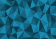 Blue Triangles Vector Background