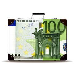 Geldkoffer 100 Euro