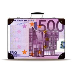Geldkoffer 500 Euro