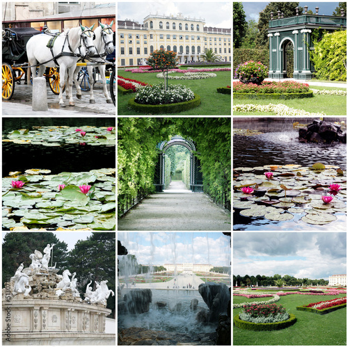 Collage of Vienna Austria