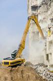 Fototapety Block of flats demolition