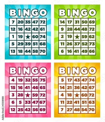 Bingo Cards - 51308188