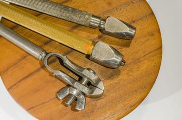 Metallkloben trio