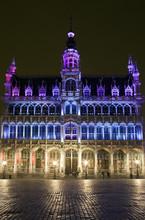 Maison du Roi (La Casa del Rey) en la Grand Place, Bruselas