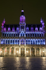 Maison du Roi (King's House) in Grand Place, Brussels