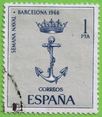 STAMP SPAIN 1