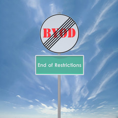 BYOD End restriction