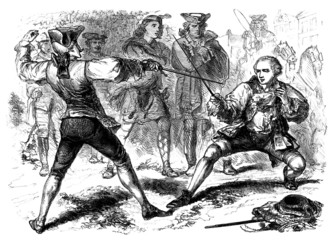 Duellists - 18th century