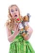 Liebe: Verliebte Teddybären - Liebespaar aus Bayern