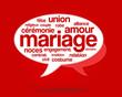mot mariage