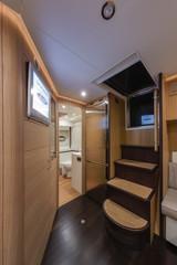 Italy, Naples, RIZZARDI 63HT  luxury yacht, kitchen