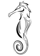 tattoo cavalluccio marino