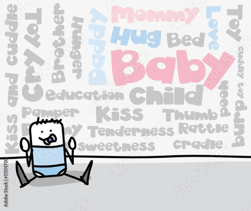 Tag cloud : Baby