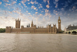 Houses of Parliament, Westminster Palace - London gothic archite