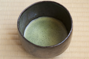 Japanese tea ceremony -  the tea bowl